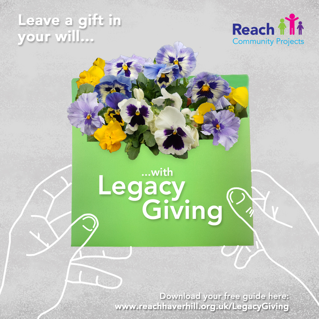 Legacy Giving Flower Envelope